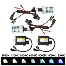 Light Ballast Headlamp-Kit Xenon-Bulb HID Auto-Car-Xenon H3 H11 3000K-12000K 9005 9006