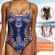 One Piece Breathable Fabric Swimsuit