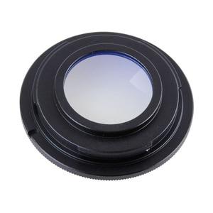 Image 2 - Metal Black Camera Lens Adapter Ring with Glass M42 Thread Mount Lens for Nikon D3200 D3300 D5100 D5200 D5500 D7100 D90 (M42 AI)