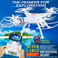 2016 nuevo Profesional GW180 50 cm grande WIFI FPV RC drone drone 2.4G 6 Axis RC Helicóptero Quadcopt con 2.0 MP cámara hd VS x102