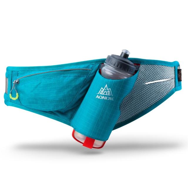AONIJIE Men Women Lightweight Running Bag Outdoor Sport Camping Hiking Kettle Waist Pack Mobile Phone Bag Hydration Belt Hip Bag