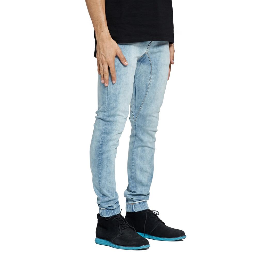Men Stretch Denim Joggers Harem Jeans For Men V7904 men