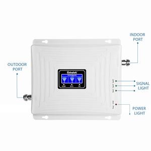 Image 2 - を Lintratek 2 グラム 3 グラム 4 グラムトライバンド携帯信号リピータ GSM 900 1800 2100 DCS WCDMA 信号ブースター携帯電話アンプ GSM 3 グラム 4 グラム @ 5