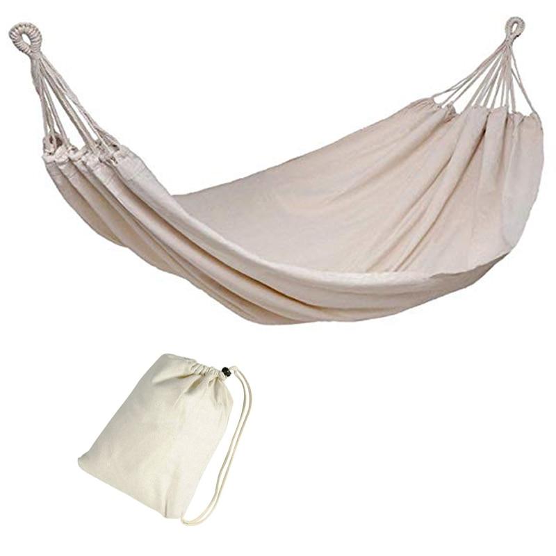 Portable loisirs hamac extérieur adulte hamac voyage meubles jardin balançoire chaise Camping survivre lit suspendu dortoir lit