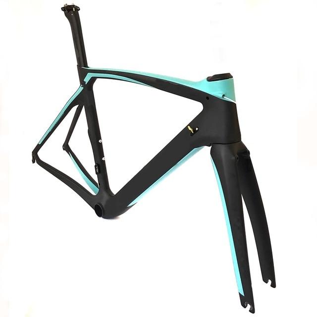 Carbon Fiber Bike Frame >> Xr4 Carbon Fiber Bike Frame Aero Road Bicycle Frame Fork Seatpost Ud