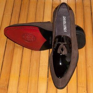 Image 5 - Daniel virea Leer en Suède Mannen Bruiloft Schoenen mannen Banket Loafers # b271 13