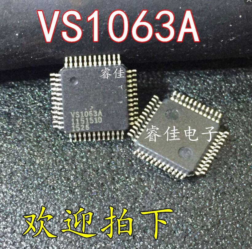2pcs/lot VS1063A-L VS1063A VS1063 LQFP48 IC2pcs/lot VS1063A-L VS1063A VS1063 LQFP48 IC
