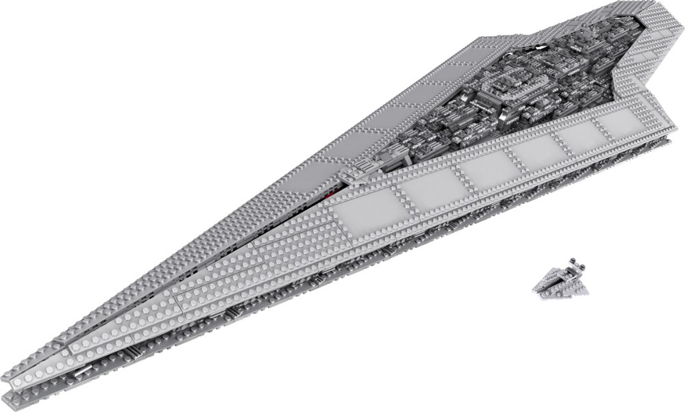 LELE 35003 Star Wars Building Blocks Imperial Star Destroyer Model action Bricks Toys Compatible With LEPIN 05028 75055 B210 lepin 22001 pirate ship imperial warships model building block briks toys gift 1717pcs compatible legoed 10210