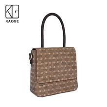 KAOGE Vegan Handmade Natural cork Designer bag Women vantage Handbags  Antifouling Ladies Hand Bags Shoulder Bags цена
