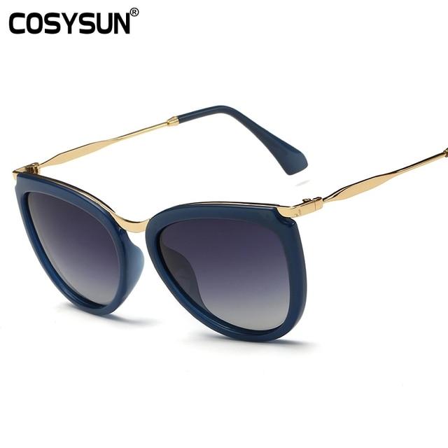 eecaf03327a3f9 2016 Zonnebrillen Merk Designer Zonnebril Dames Mode Luxe Zonnebril Oculos  De Sol Vrouwen bril Gepolariseerde Brillen