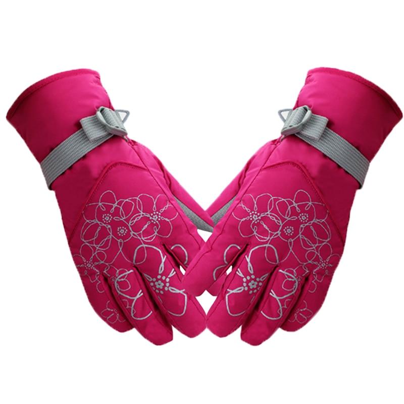 Skiing gloves touch screen mittens men sporting warm gloves women mittens cashmere gloves waterproof gloves