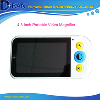 4.3 LCD Portable Digital Video Magnifier Reading Low Vision Aid Video Magnifying Glass with LED Lights Electronic Microscope