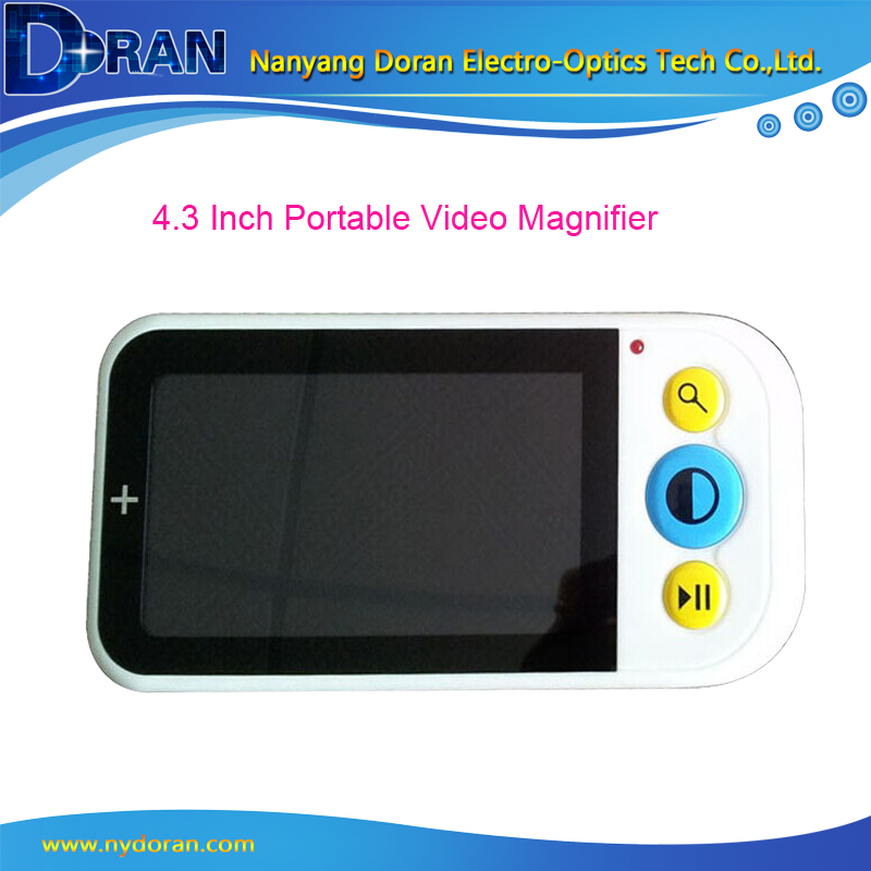 4 3 LCD Portable font b Digital b font Video Magnifier Reading Low Vision Aid Video