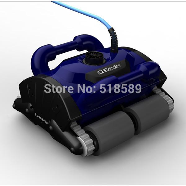все цены на Robotic pool cleaner with 30m cable,swimming pool robot vacuum cleaner,swimming pool cleaning equipment with caddy cart CE ROHS