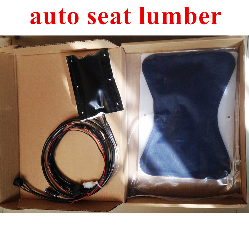 12v auto seat built in air lumbar Embedded chair back support chair Waist top For car