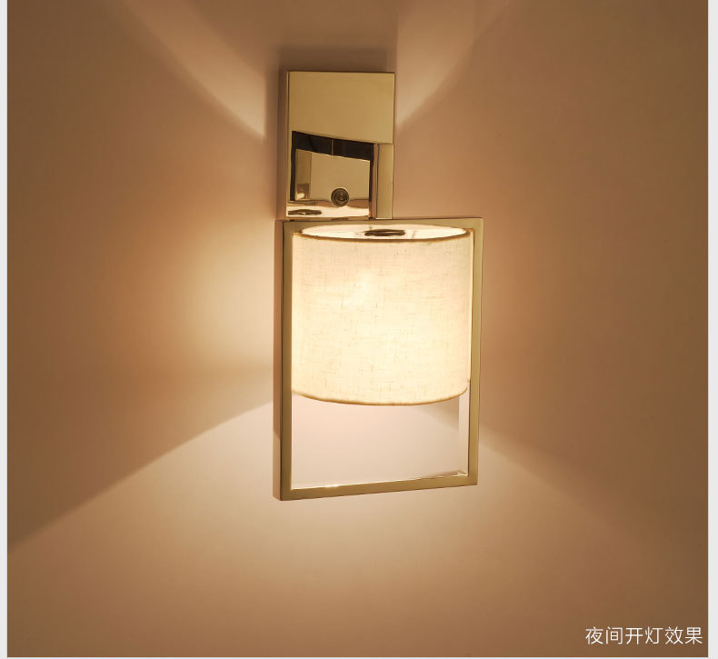 E27 LED Modern Wall Light Bulb Lamps 110V 220V Home Decor Restroom Bath Bedroom Reading Wall Lamp Hotel Light Sconces WWL099