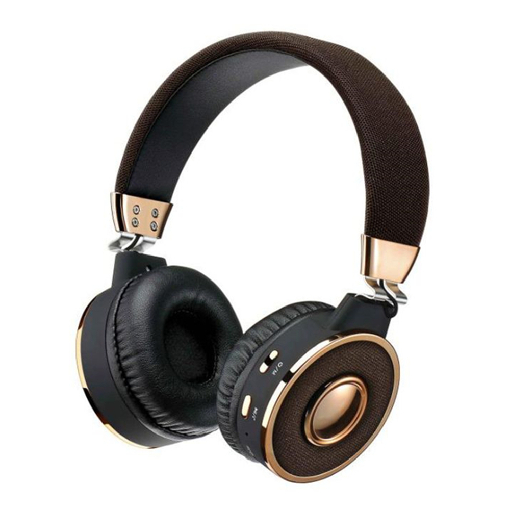 Multi-Functional Bluetooth Headphone BT-08 Stereo Wireless Headset Support TF Card MP3 Music Player FM Radio memteq cool on ear lcd foldable headset wireless headphone earphone with fm radio tf card sport mp3 player