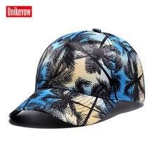 UNIKEVOW Brand New 3D Trees Digital Printing Baseball Cap Snapback Hat For Men & Women Outdoor Casual Caps Gorra Wholesale