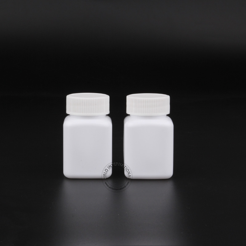 20pcs Lot 85g 85ml Wide Mouth White Plastic Pill Bottle