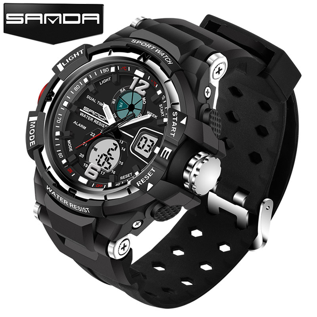Sport Watch Men 2017 Clock Male LED Digital Quartz Wrist Watches Men's Top Brand Luxury Digital-watch Relogio Masculino