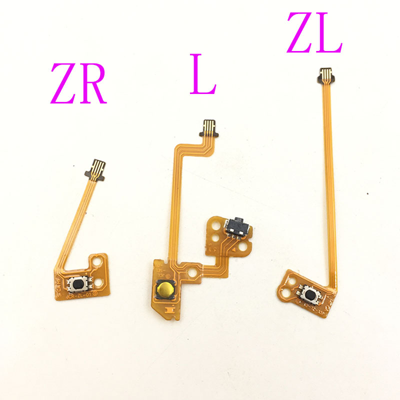 Replacement ZL ZR L Button Key Flex Ribbon Cable For Nintendo NS Switch Joy-Con Controller Trigger Buttons Cable