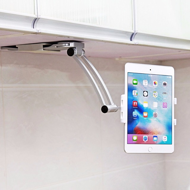 Xmxczkj Cell Phone Holder Kitchen Tablet Mount Stand Universal Wall 13 4 To 19cm
