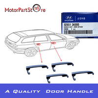 New Outside Door Handle For Hyundai Sonata 2006 2007 2008 2009 2010 Front Rear Set Of