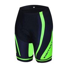 KIDITOKT été antichoc cyclisme Shorts 3D Gel Pad cyclisme pantalon court VTT Shorts cyclisme vêtements vélo vêtements