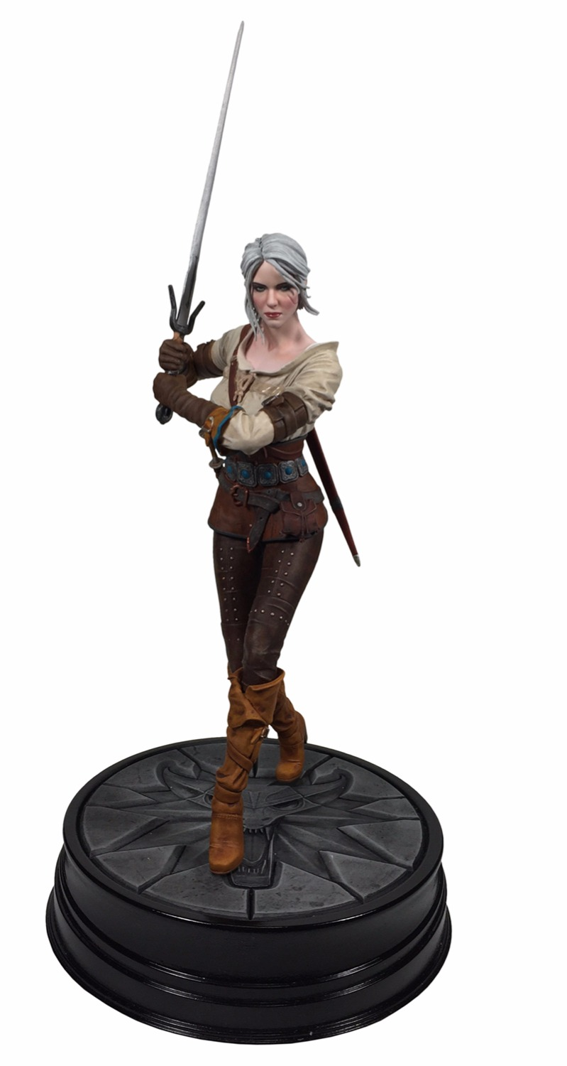 The Witcher 3 - Wild Hunt: Ciri Figure Dark Horse The Witcher PVC Game Figure Collection Model Toy fire maple sw28888 outdoor tactical motorcycling wild game abs helmet khaki