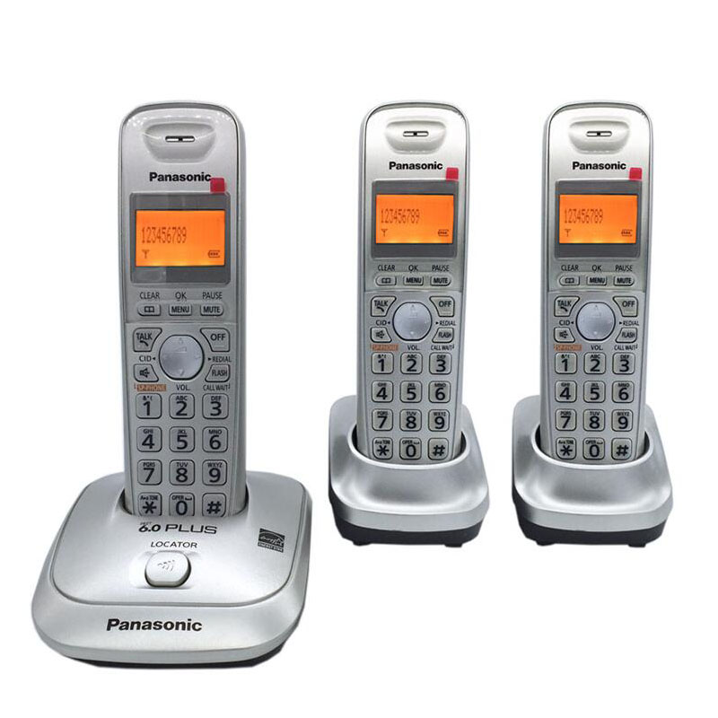 Expandable DECT 6.0 Plus 1.9 GHz Digital Cordless Phone Call ID Handfree DEL Wireless Home Telephone For Office Bussiness