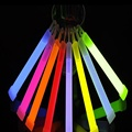 "5pcs 6""Glow Sticks Party Christmas Light Decor Assorted Lanyard Favors Neon Rave Christmas Goods Party Supplies"