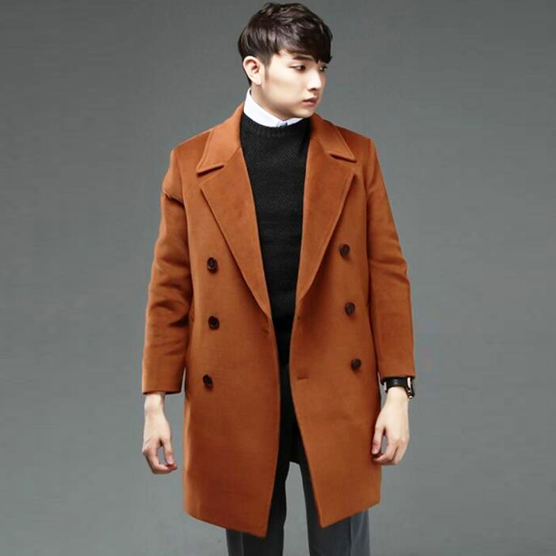 S 6XL Plus Size Clothes Cashmere Coat Men Spring And Autumn New ...