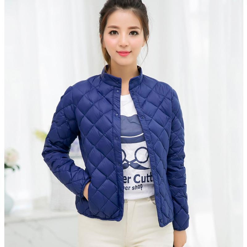 Ultra light women's down jacket – Modern fashion jacket photo blog