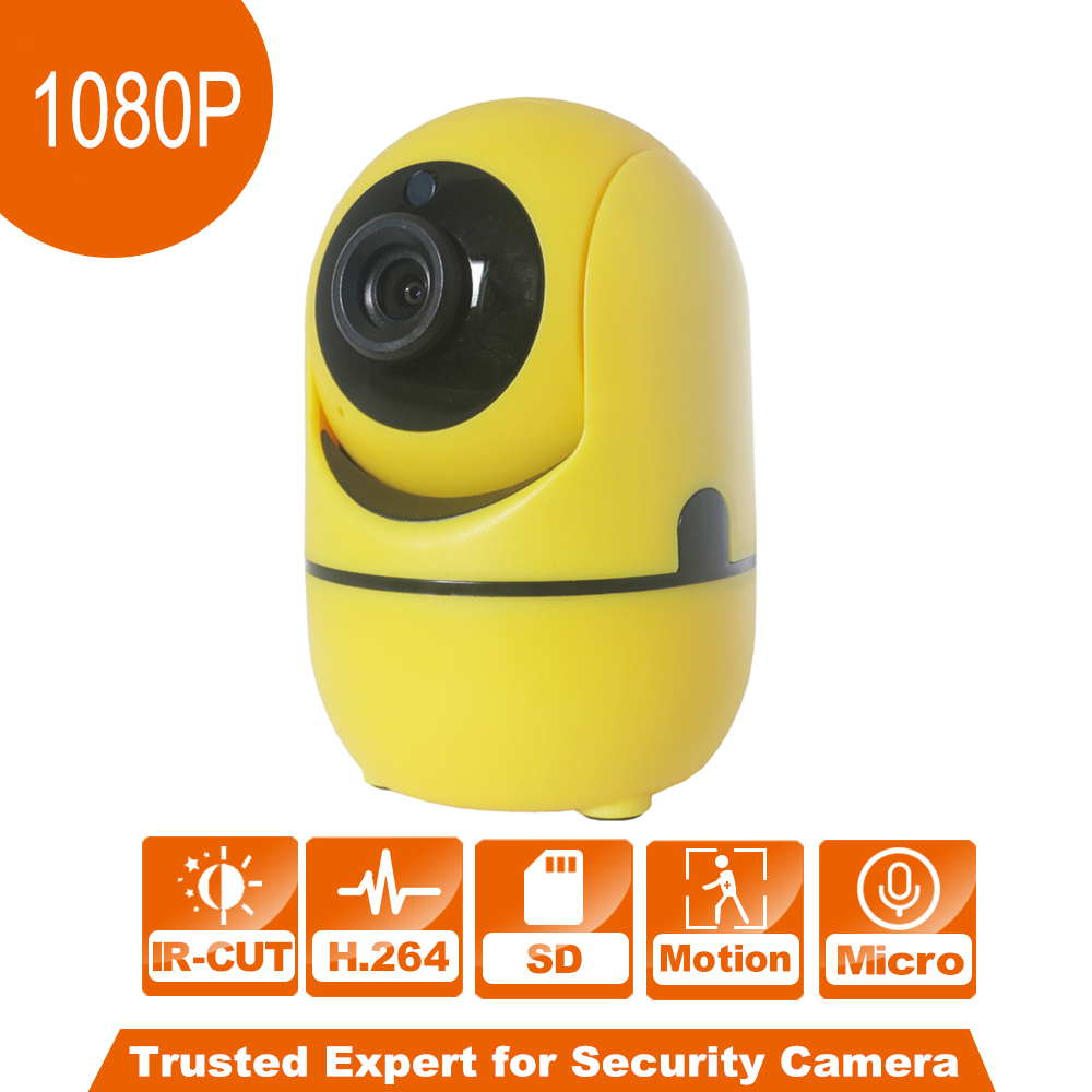 1080P Wireless IP Camera Network CCTV Camera P2P Digital Remote Pan/Tilt two way Audio Recording Indoor Baby Monitor for Family