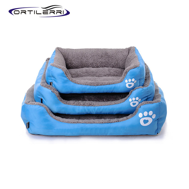 Ortilerri Dog Bed Candy Colors Cat Dog Bed Mat Kennel ...