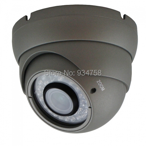 ФОТО 1.3MP 960P CCTV Security AHD HD 36IR 2.8-12mm Metal Dome Camera