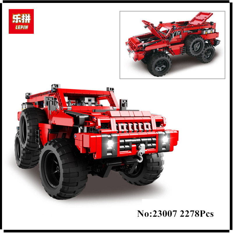 IN STOCK Lepin 23007 2278Pcs Genuine Technic MOC Series The Marauder Set  Children Educational Building Blocks Bricks Toys Model lepin 16050 the old finishing store set moc series 21310 building blocks bricks educational children diy toys christmas gift