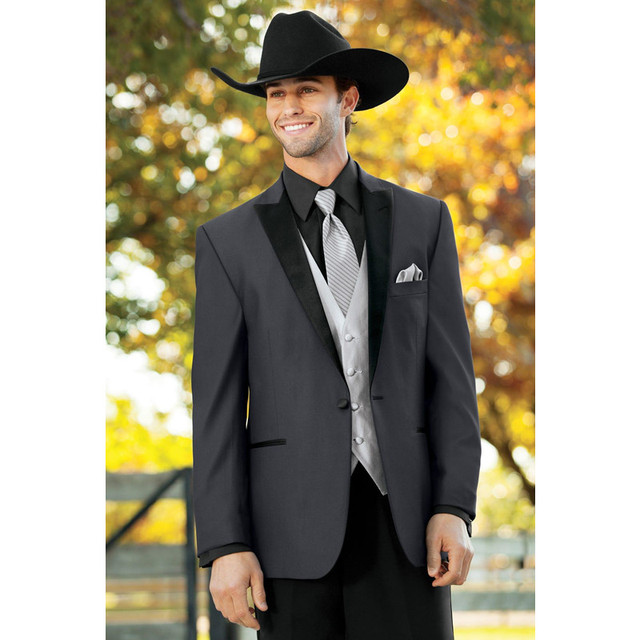 5ec7b973bcb83 Anna Magnan Mens Negro Trajes de Chaqueta y Pantalones de Hombre Vestido  Formal Traje Informal de