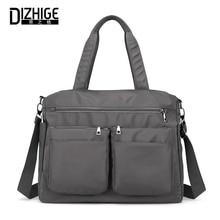 DIZHIGE Brand Large Capacity Shoulder Bags Female Luxury Women Handbag Waterproof Nylon High Quality Crossbody For
