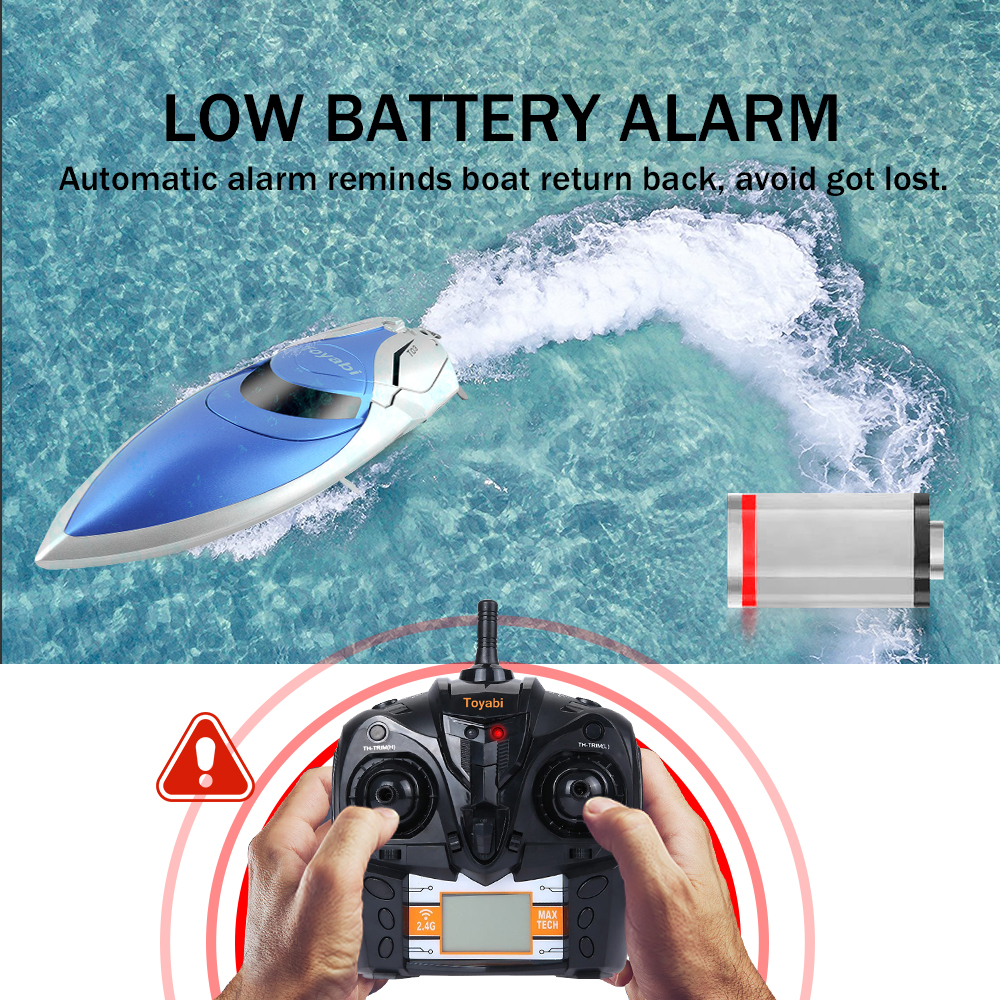 GizmoVine Remote Control Boat High Speed RC Boat Pool Toys 4CH 2.4G RC Toys For Adults&Children+Battery Toys For Children Gifts Lahore