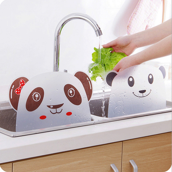 1Pc Kitchen Sink Water Splash Guards with Sucker Waterproof Screen Dish/ Fruit Vegetable Washing Anti-water Board Baffle Plate