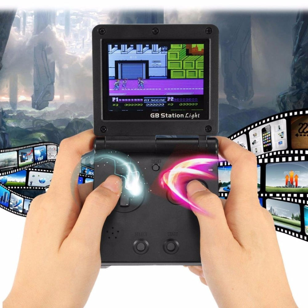 2.7 GB Station Light SP PVP Handheld Game Console Games Portable Game Video Player For Children Gaming Toys Christmas Gifts