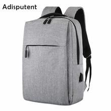 HEFLASHOR Laptop Usb Backpack School Bag Anti Theft Men For