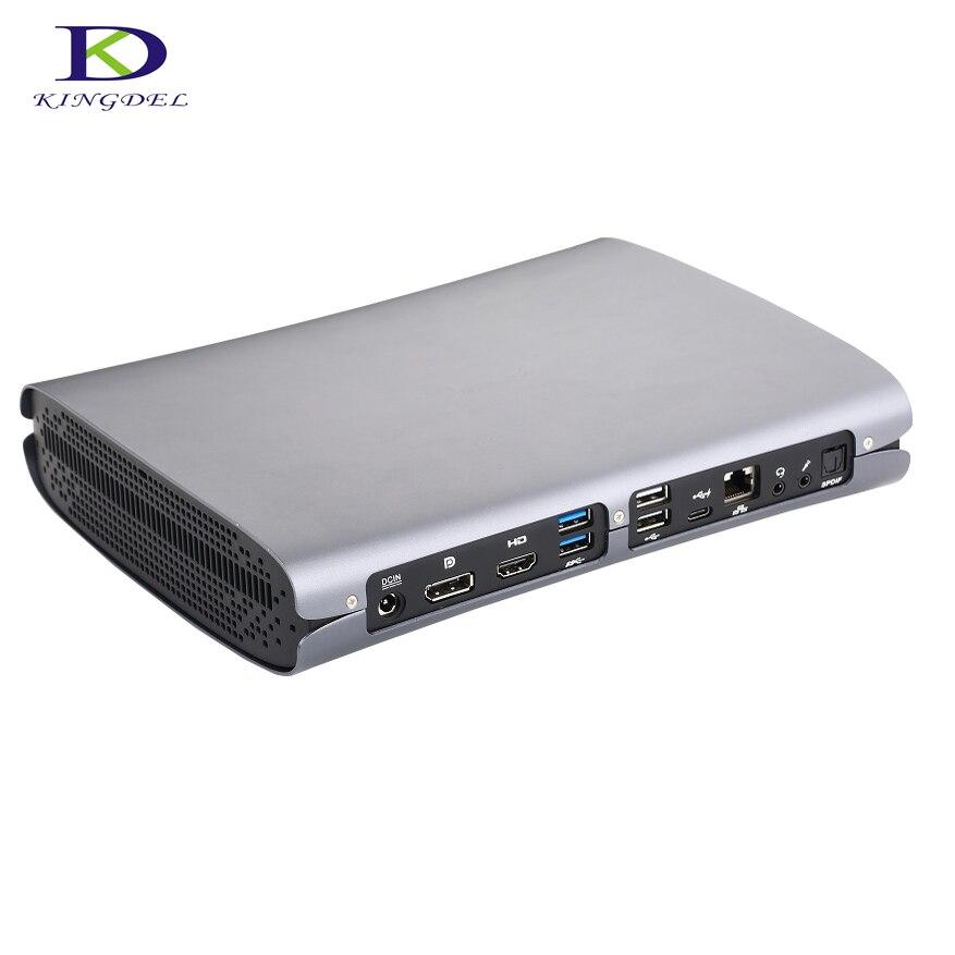 Nouveau modèle haute configuration pour jeu Mini PC ordinateur i7 6700HQ DDR4 NGFF double ventilateur carte dédiée Max 32G RAM F500