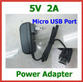 "10pcs 5V 2A Micro USB Charger for Tablet PC Chuwi vi8 chuwi vi10 Hi8 Lenovo A2107 A2207 A1000 Miix2 8""  mini pc Vensmile IPC002"