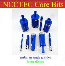 [Для угловой шлифовальной машины] 35 мм NCCTEC Алмазные Коронки CD35A БЕСПЛАТНАЯ доставка | 1.4 »отбор керна сверла сократить гладкой чистой отверстия