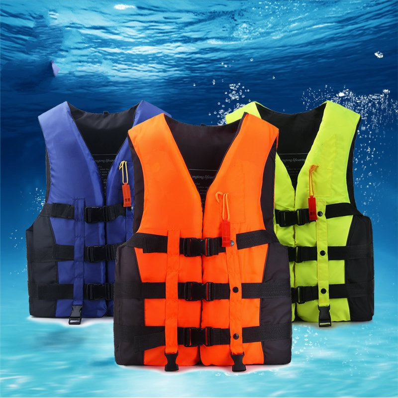 Outdoor life jackets adult professional children thicker life - saving clothing sea fishing vest fishing vest fishing suit professional multi pocket fly fishing vest sleeveless waterproof life rescue jacket outdoor photography clothing sea wear shirts