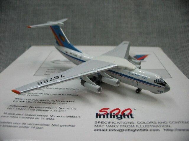 Специальное предложение редкий на борту 500 1: 500 Россия aerosur ИЛ-76 модель самолета сплава ra-76786 Избранные Модели