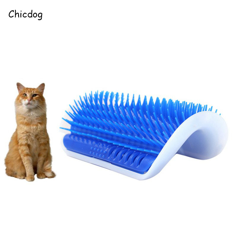 Lovely Cat Toy Pet Products Cat Massage Device Self Groomer Pet Toy For Cat Brush comb Device Cats Supplies