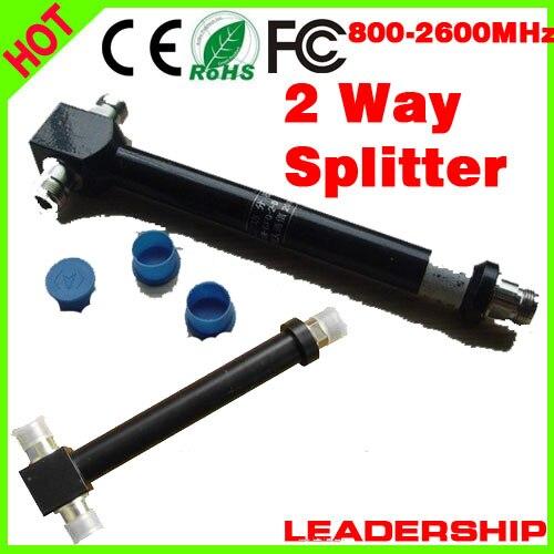 5pcs/lot 800-2500MHz 2 Ways N Type Female Joint 200W Power Divider Broadcast Power Divider Splitter 1/2 Power Divider Booster